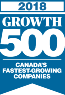 Growth 500 Logo 2018 Blue